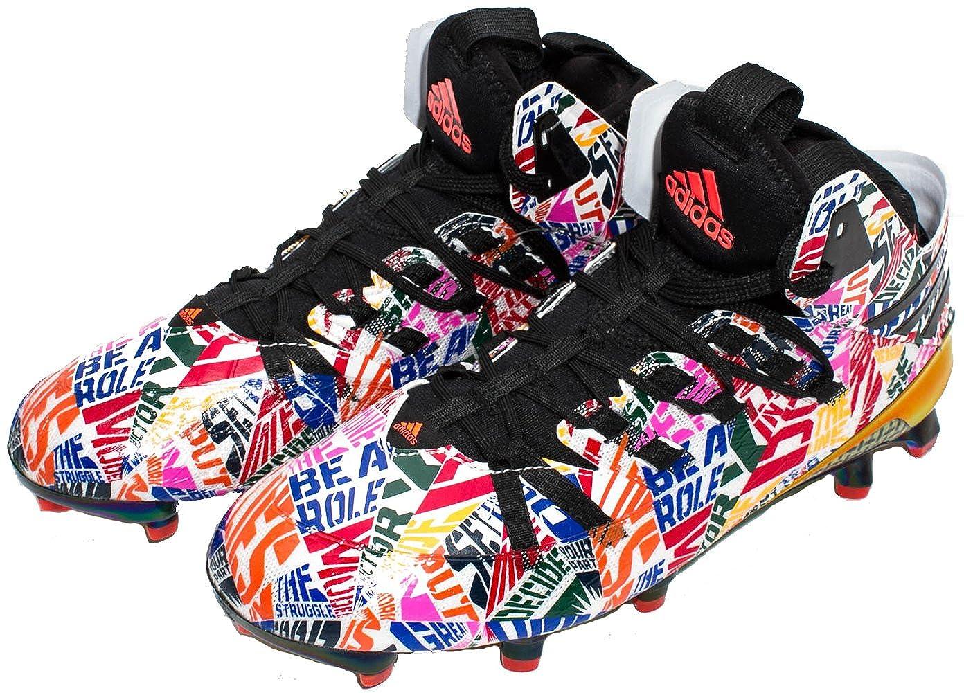 new styles 75078 f74b0 Amazon.com  adidas Freak x Kevlar Football Cleats Multi Color S84842   Football
