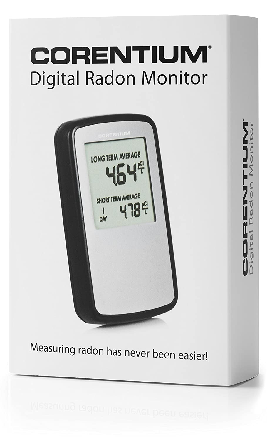 Corentium Digital Electronic Radon Gas Monitor - Detector - Test - Tester - USA version in pCi/L: Amazon.com: Industrial & Scientific