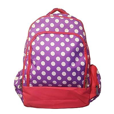 Cute Stylish Polka Dot Back to School Backpack cheap