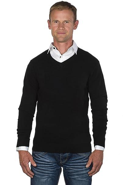 Ugholin - Jerséi - suéter - Básico - cuello en V - Manga Larga ...