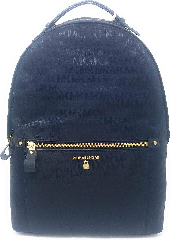 Michael Kors Nylon Kelsey Large Backpack,Admiral Navy