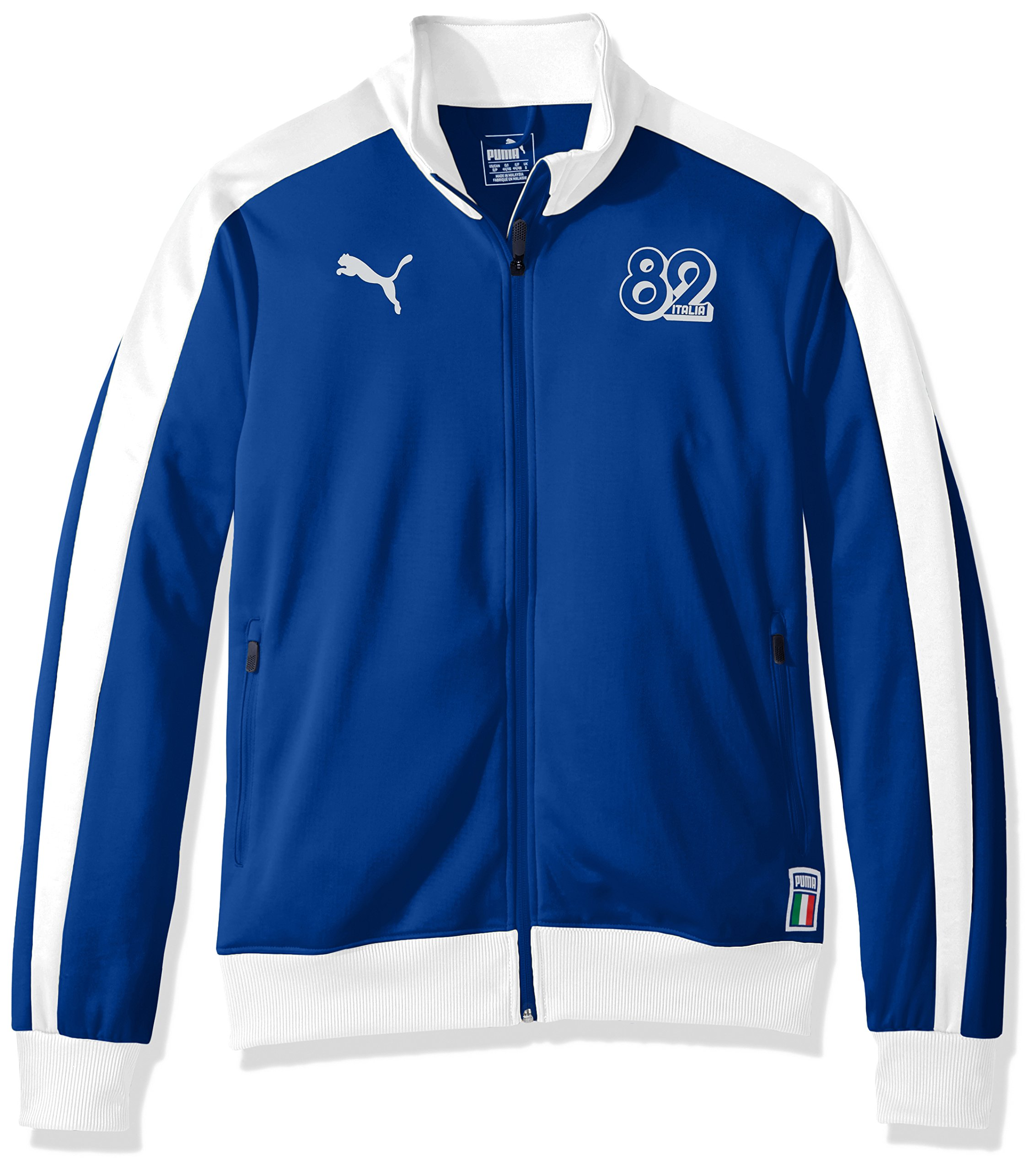PUMA Men's Forever Football T7 Track Jacket, Team Power Blue L