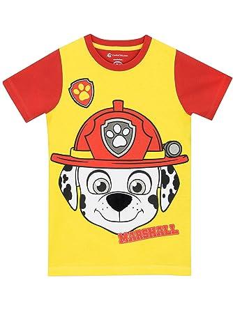 6527f73db0c Amazon.com  Paw Patrol Boys' Marshall T-Shirt  Clothing