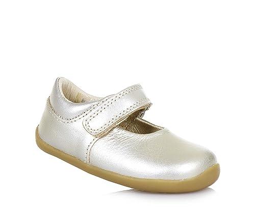 a8649c659c33 Bobux Girls  Loafer Flats Gold Size  1.5 Child UK