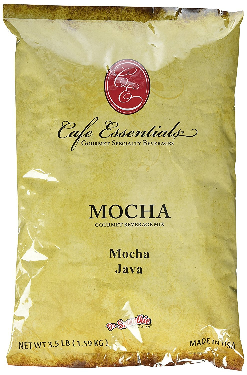 Mocha Java Beverage Mix, 2-PACK SPECIAL (2 / 3.5lb Bags), Cafe Essentials