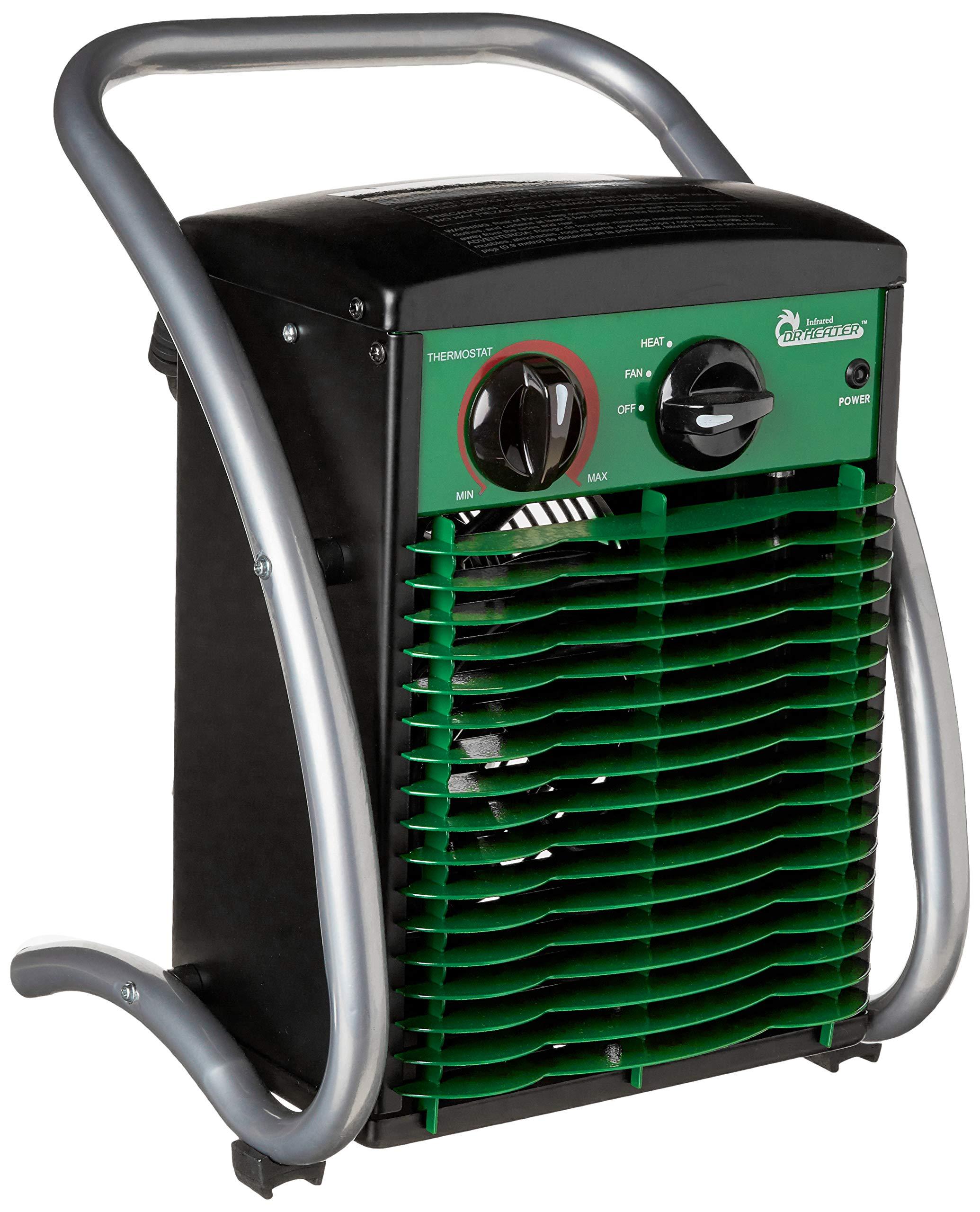 Dr. Heater DR218-1500W Greenhouse Garage Workshop Infrared Heater, 1500-watt by Dr Infrared Heater