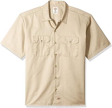 Dickies WS574 Hanging Camisa Corta de La Manga de Trabajo: Amazon.es: Ropa y accesorios