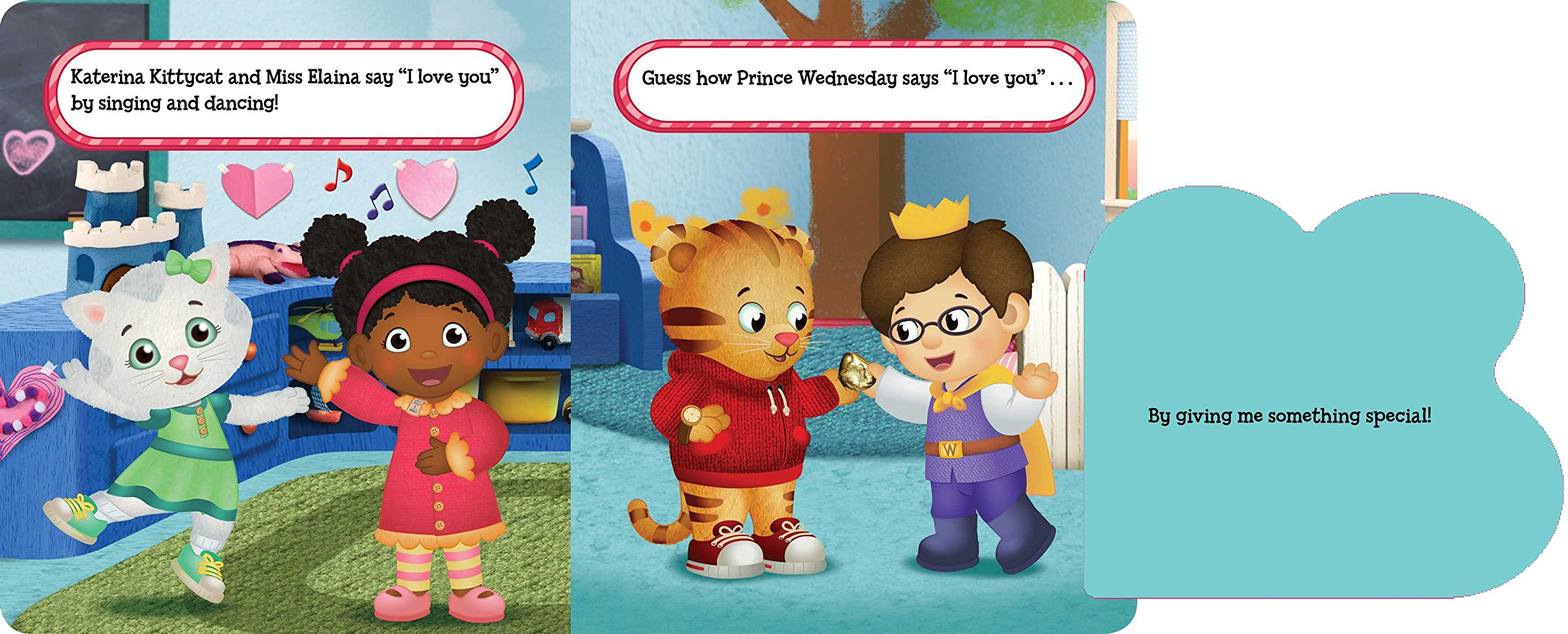 Happy Love Day, Daniel Tiger!: A Lift The Flap Book (Daniel Tigeru0027s  Neighborhood): Becky Friedman, Jason Fruchter: 9781481448550: Amazon.com:  Books