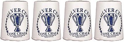 Silver Cup Billiard//Pool Cone Chalk Fоur Расk