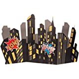 Superhero Comics Party Supplies - Standup City Scape