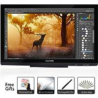 Huion GT-220 V2 8192 Pen Pressure Graphics Drawing Monitor 21.5 Pulgadas HD Pen Display Tableta Digital de Dibujo Monitor - Negro