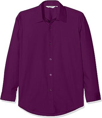 Trutex LCS, Camisa Para Niños, Morado (Outstanding Purple), 14 años (talla del fabricante: 14.5), Pack de 2: Amazon.es: Ropa y accesorios