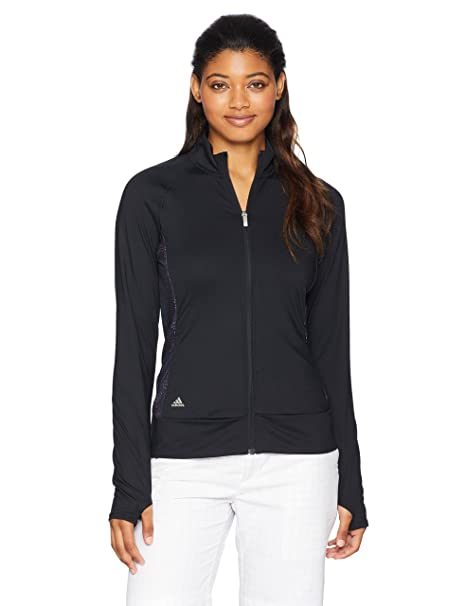 Amazon.com : adidas Golf Womens Rangewear Full Zip Jacket ...