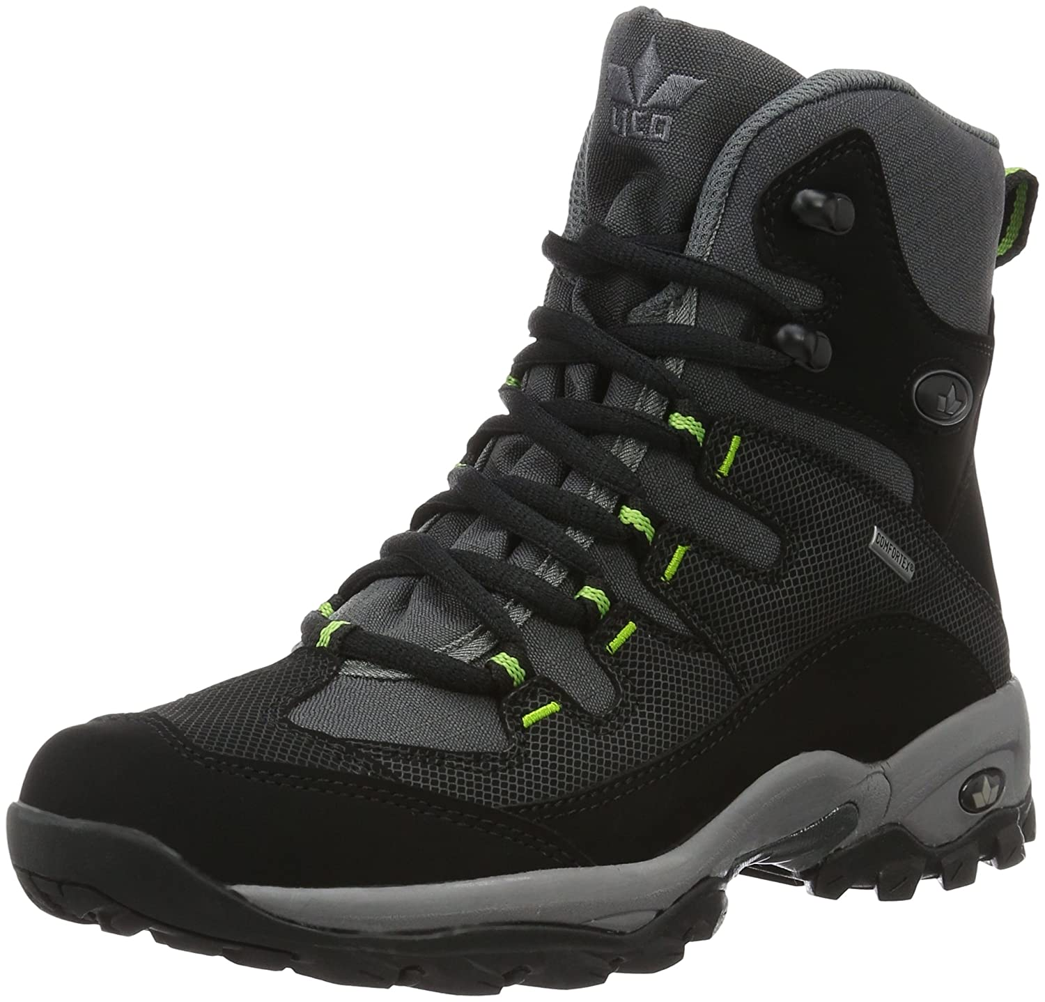 newest ee989 0d2f4 Lico Men''s Glacier Snow Boots, Black Anthrazit/Schwarz, 4 ...