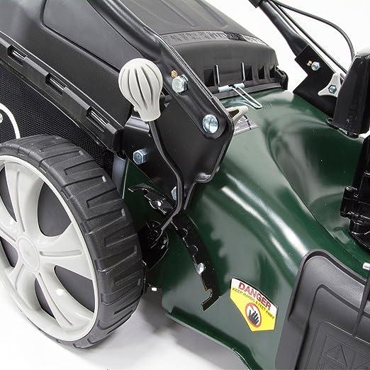 Amazon.com: Webb 18 en alto acero Deck Gasolina Cortadora De ...