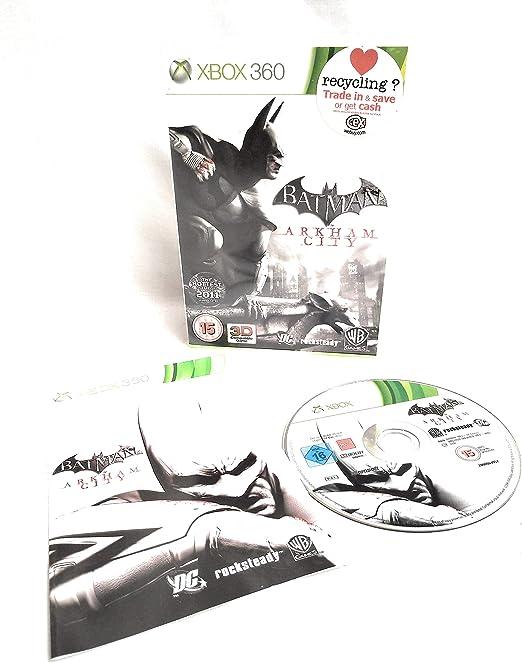 Batman Arkham City (Xbox 360) [Importación Inglesa]: Amazon.es ...