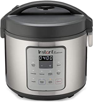 Instant Zest 20 Cup Rice Cooker, Steamer, Cooks Rice, Grains, Quinoa and Oatmeal, No Pressure Cooking Functionality