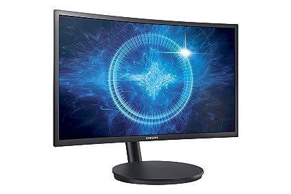 Samsung 23 5 inch (59 8 cm) Curved Gaming LED Backlit Computer Monitor -  Full HD, VA Panel with VGA, HDMI, DP, Audio Ports - LC24FG70FQ (Black)