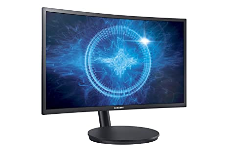 Samsung CFG70 Series 24-Inch 1ms Curved Gaming Monitor (C24FG70)  (LC24FG70FQNXZA)