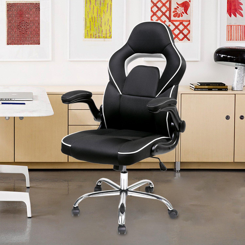 Amazon Merax Racing Style Mesh Gaming Chair Ergonomic