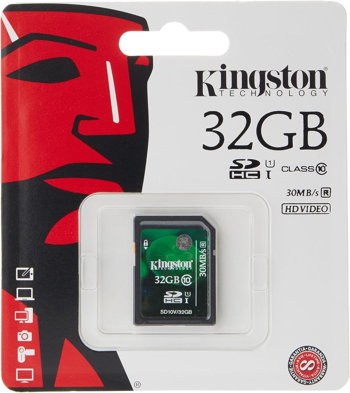 Kingston Sd10v Secure Digital 32gb Sdhc Speicherkarte Computer Zubehör