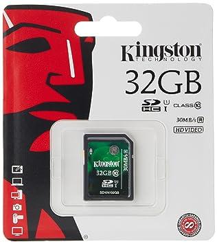 tarjeta de memoria kingston 32gb clase 10