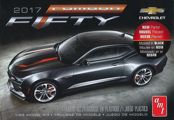 Amazon.com: AMT AMT1035 1:25 2017 Chevy Camaro 50th Anniversary: Toys & Games
