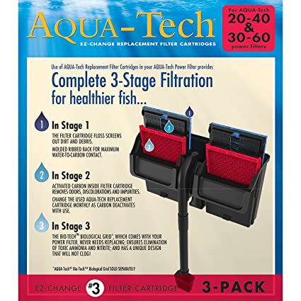 Aqua-tech tube set for aquatech power filter, 30 to 60 gallons.