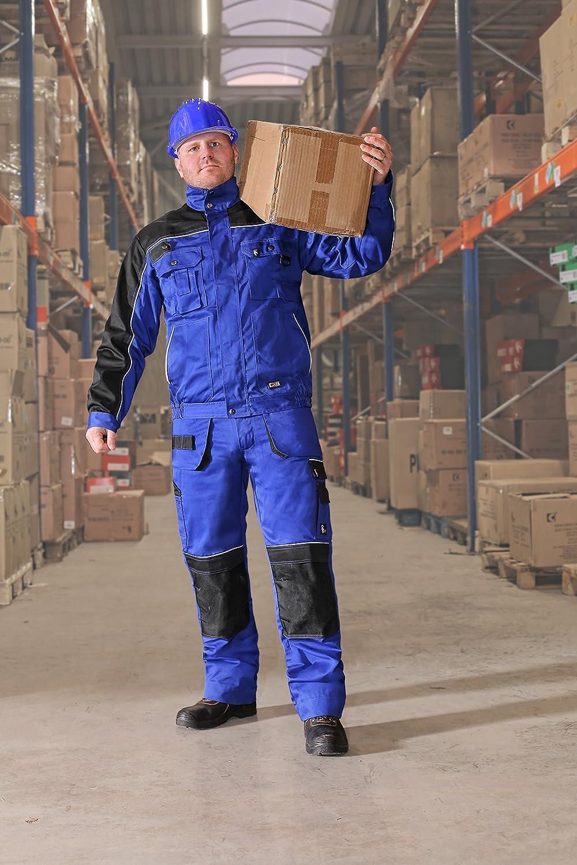 Sehr Stabile Strapazierf/ähige Gartenhose Bundhose Cargohose CXS Teodor Herren Arbeitshose mit Kniepolstertaschen