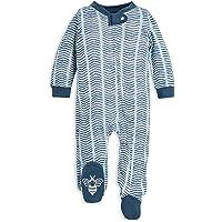 Burt's Bees Baby Sleep & Play, Mono orgánico de una Pieza PJ, Pijama con Cremallera Frontal