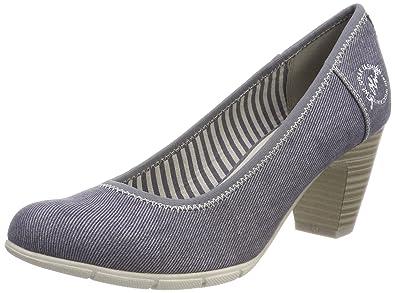 S.Oliver Escarpins femme -  - Bleu - 36 BLEU - Chaussures Escarpins Femme