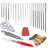 ZP Crafts Sewing Needles Set with Needle Threader and other accessories.
