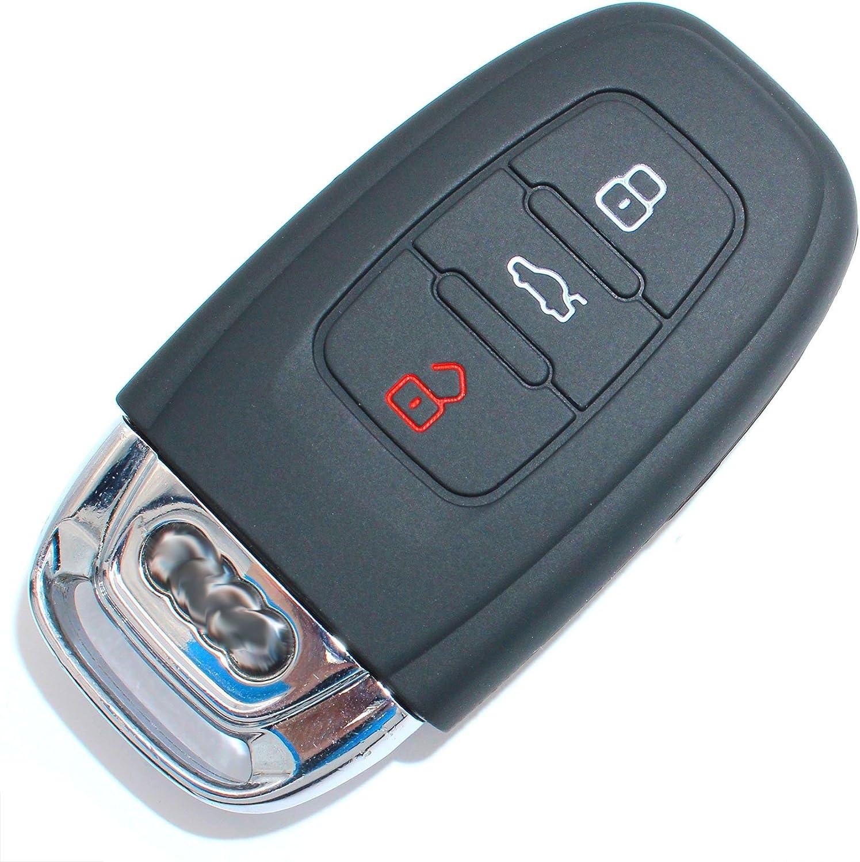 Schlüssel Hülle Ac Für 3 Tasten Auto Schlüssel Silikon Elektronik