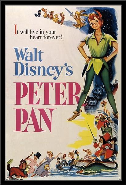 b6868d20dd764 Trends International Wall Poster Peter Pan One Sheet, 24 x 36