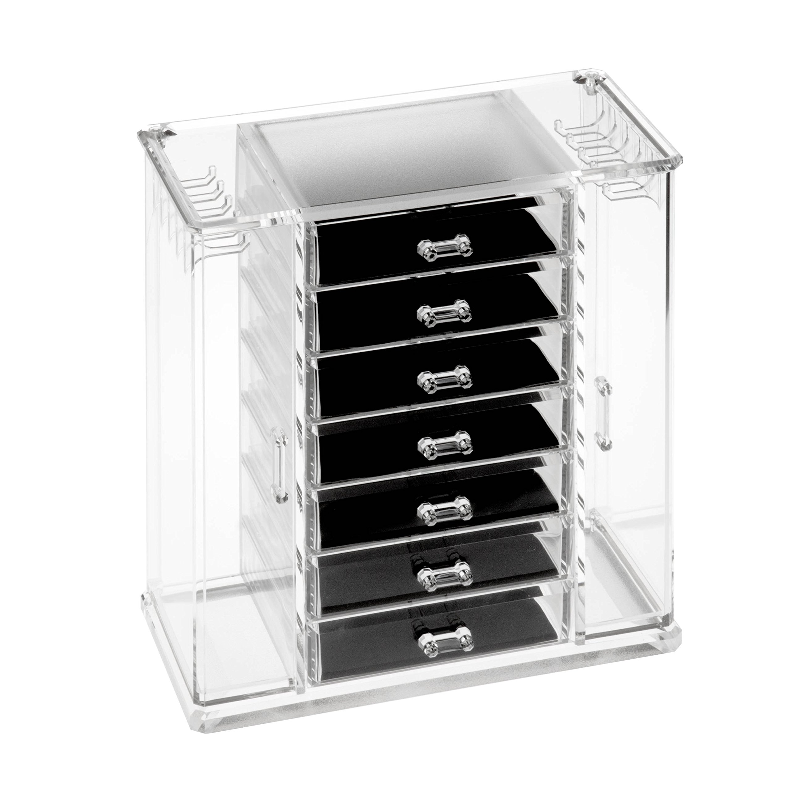 HCD Refined by Honey-Can-Do STO-06383 Arielle Jewelry Chest, 12.1L x 7.2W x 12.4H