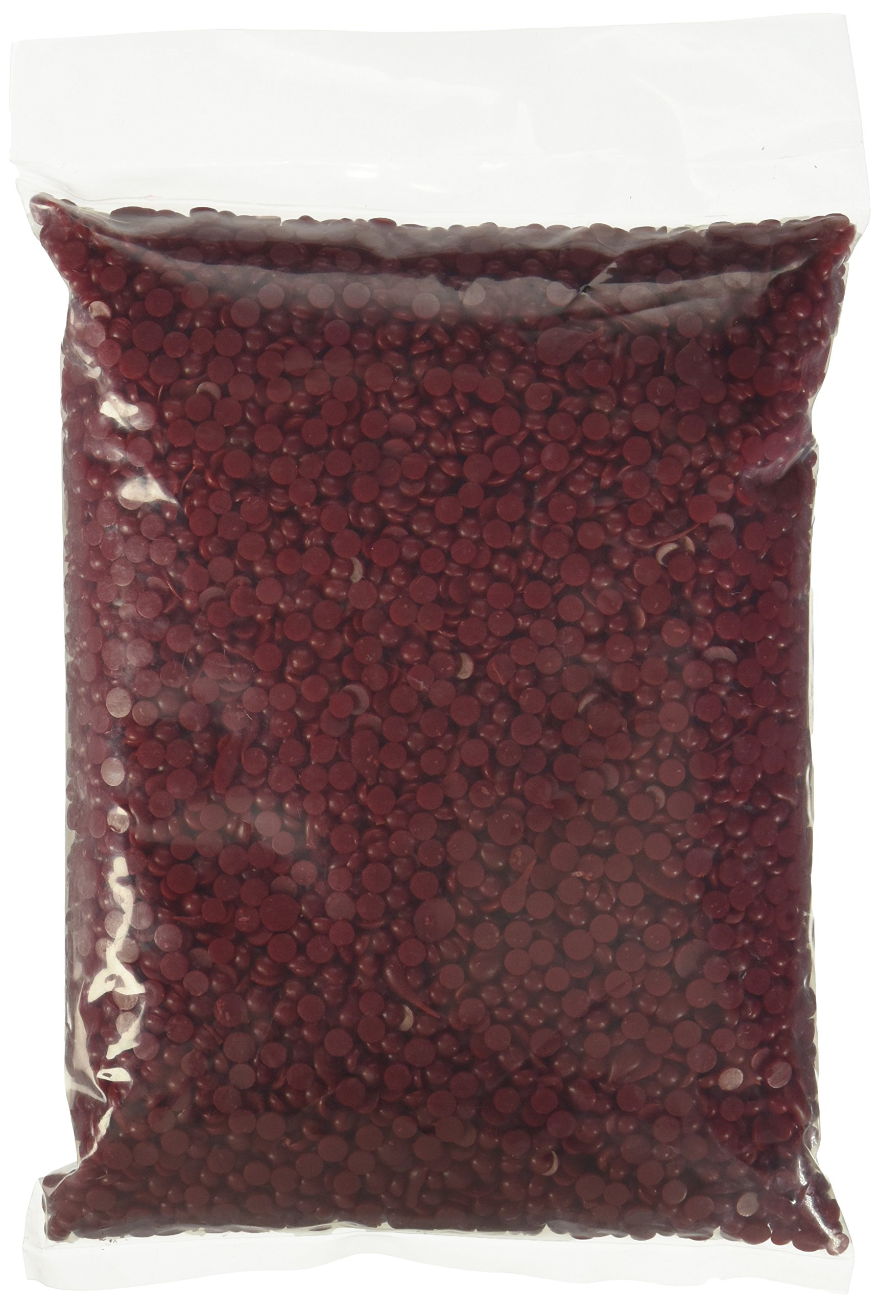 Bottle Seal Wax Beads, Holiday Red 1 lb.