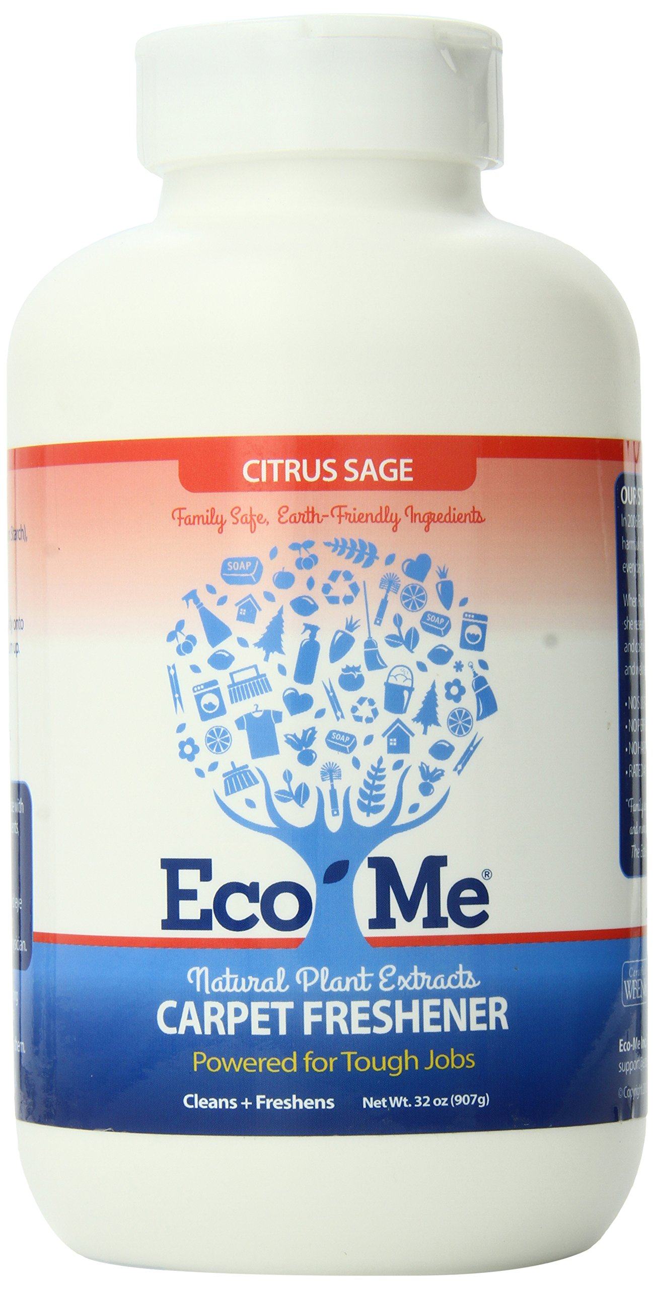 Eco-Me Carpet Freshener, Matt, 32-Ounce Jar