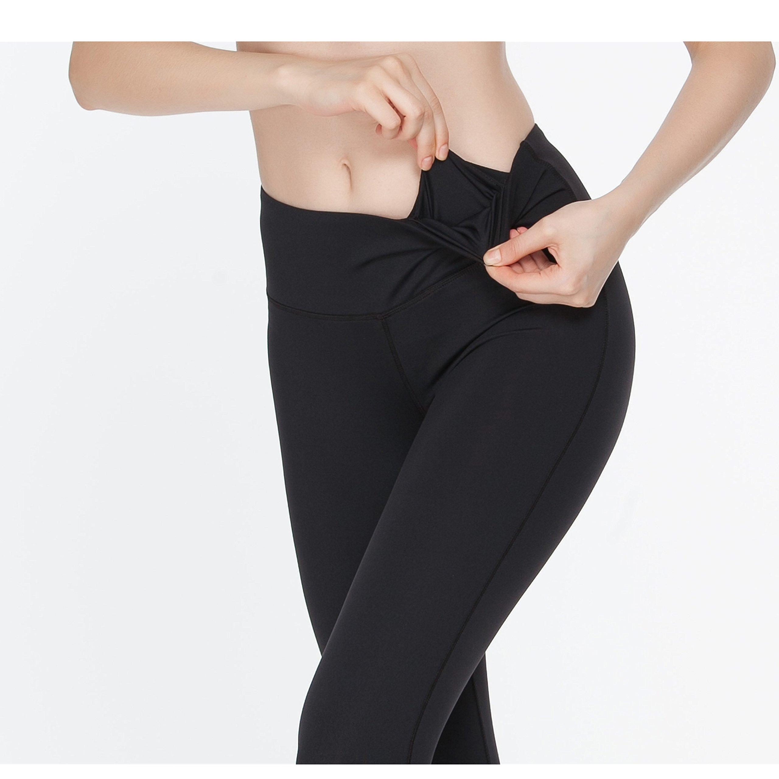 Womens Yoga Pants Gemstone Diamonds Jewellery Fitness Power Flex Yoga Pants Leggings