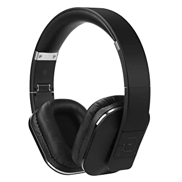 August Over Ear Bluetooth Wireless Headphones - EP650 with Android/iOS App  for Custom Sound Control - Enjoy Bass Rich Sound and Optimum Comfort -