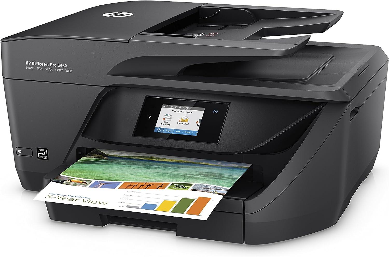 HP OfficeJet Pro 6950 - Impresora Multifunción (Tinta Color, Fax ...