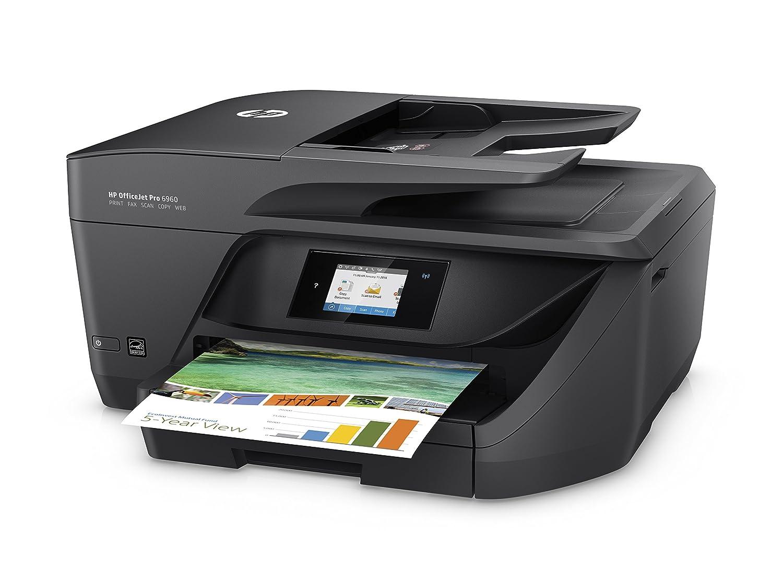 HP OfficeJet Pro 6960 - Impresora multifunción Color Negro + 3 ...