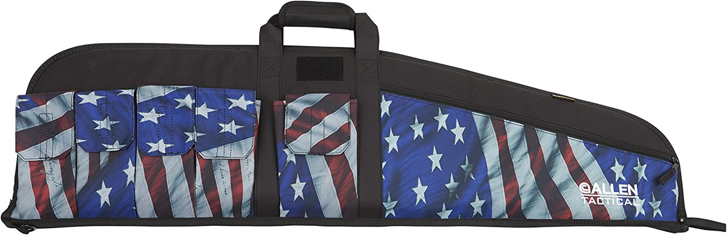 "Allen Company 1062 Victory Tactical Rifle Case, 41"", Stars & Stripes 815GZEOUpEL"