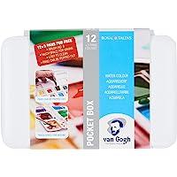 Van Gogh Sulu Boya Seti 12+3 Renk X Tablet - Plastik Kutulu