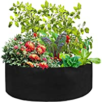 Fabric Garden Raised Planting Bed - Round Raised,arden Round Raised Planter Grow Bag Planter Pot for Herb Flower…