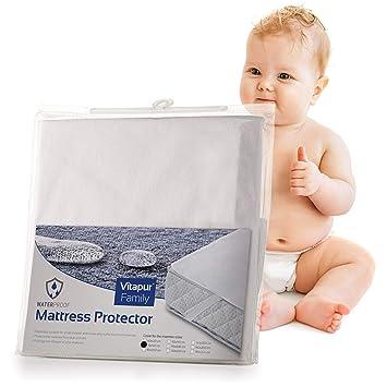 Matratzenauflage Babybett.Wasserdichter Matratzenschoner Betteinlage Matratzenauflage