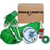 625lb Fishing Magnet Bundle Pack - Includes 6mm