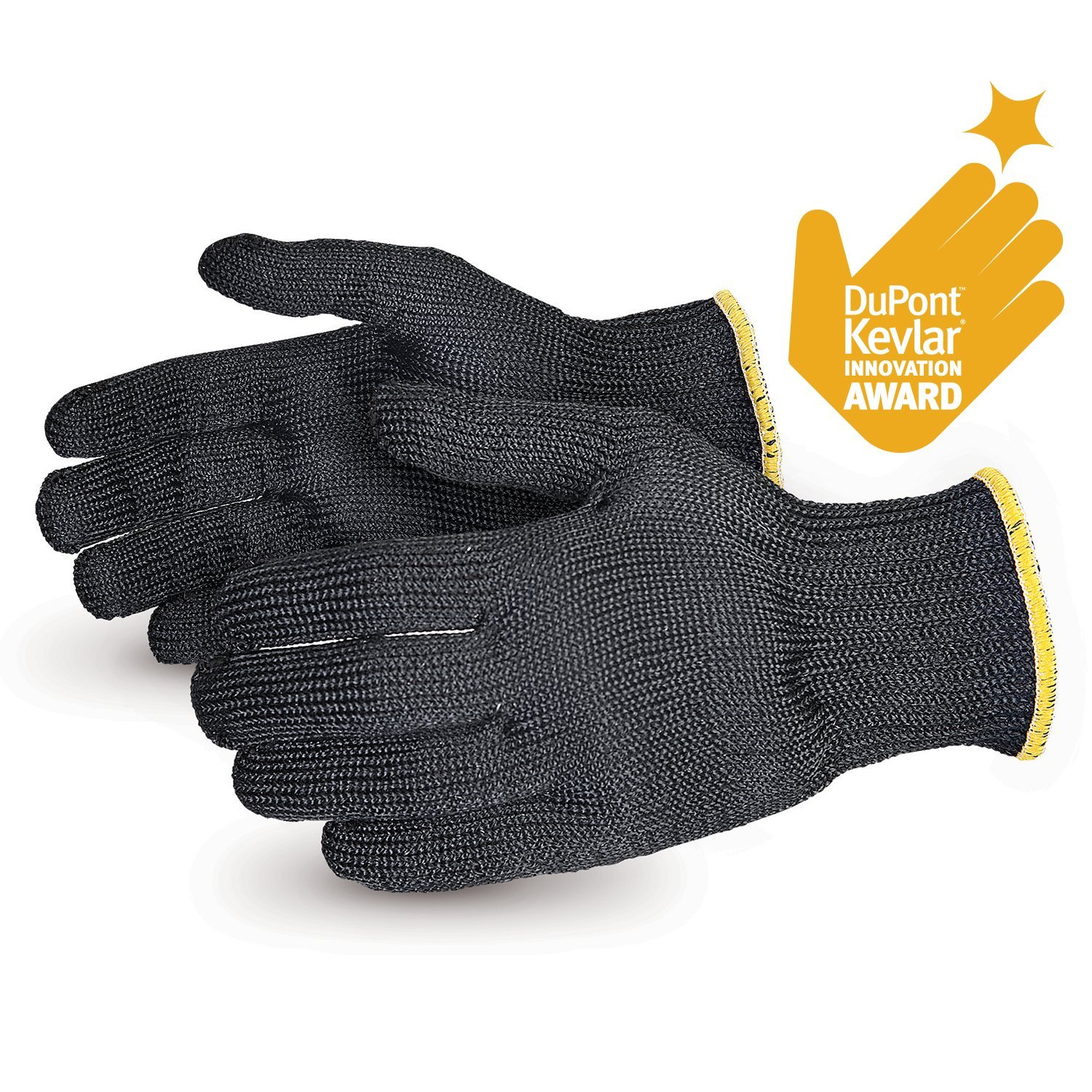 Contender Heavyweight Cut Resistant Glove with Kevlar (1 Pair of Cut Proof Gloves - X-Large) SBKG/XL