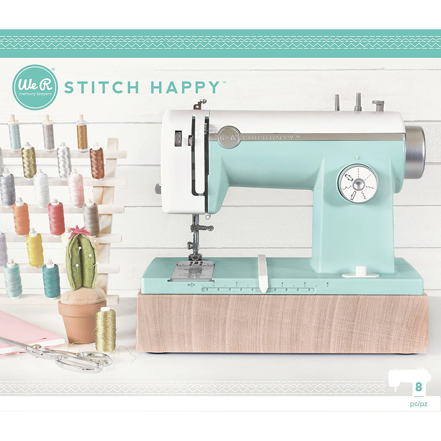 Stitch Happy Sewing Machine by We R Memory Keepers | Mint American Crafts 663128