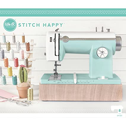 American Crafts Stitch Happy Sewing Machine by We R Memory Keepers | Mint