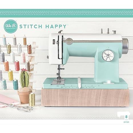 American Crafts 663128, Máquina de Coser con Us Adapter, Menta